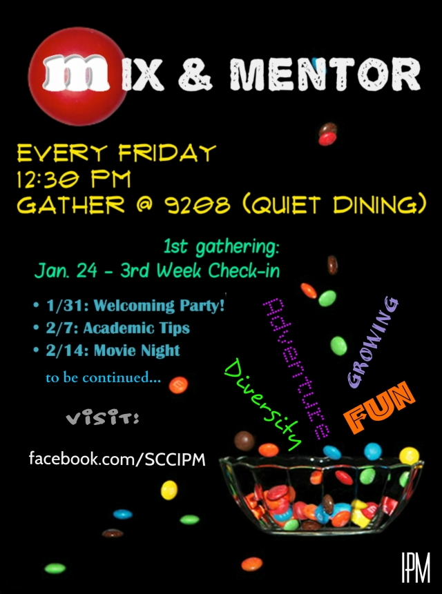 Mix and Mentor Poster