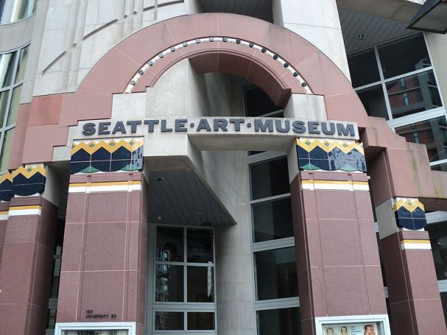 Entrance of the Seattle Art Museum