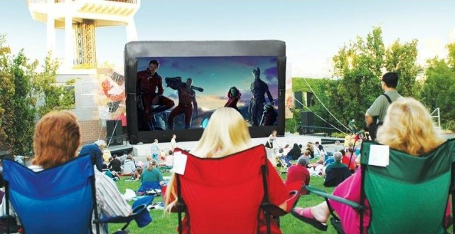 Movies at the Mural